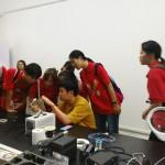 undergraduate students' visit