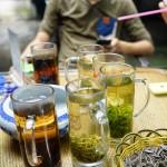group tea break @ Yuelu Mountain 2014.5.31