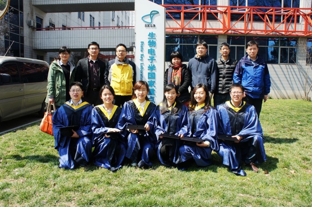 students graduated from our lab