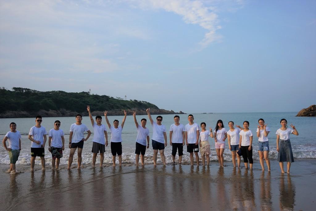 Group visit to Zhoushan