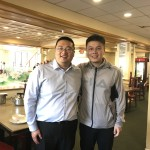 With Prof. Zhang at a famous hotpot restaurant in Boston