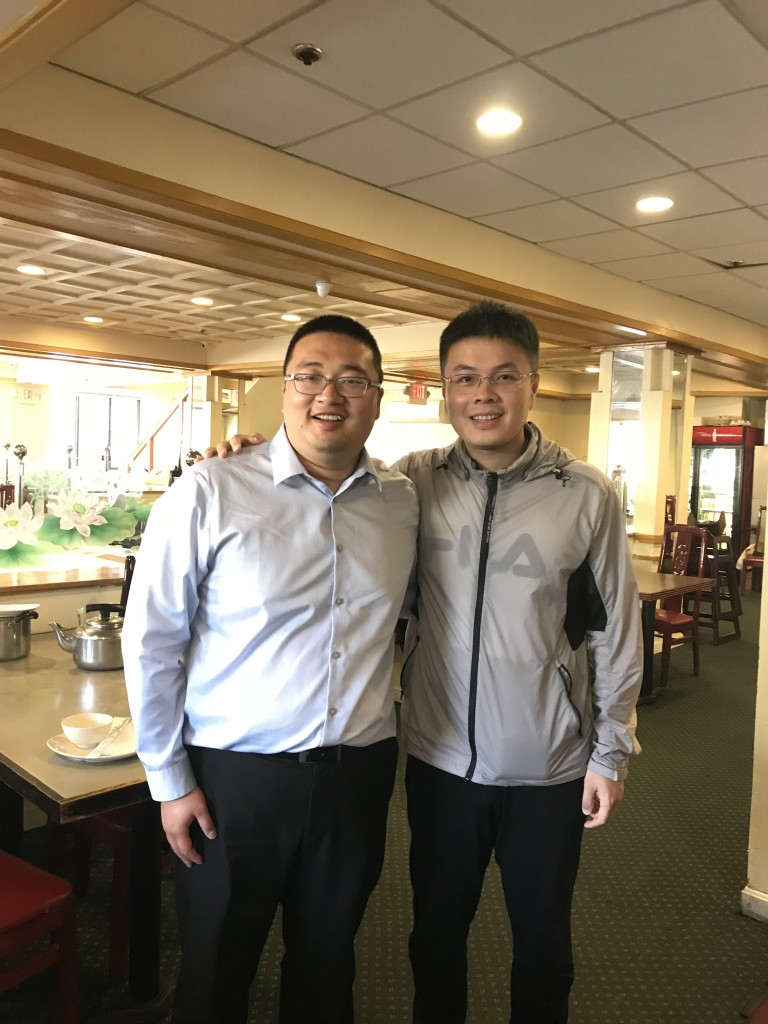 With Prof. Zhang at hotpot restaurant