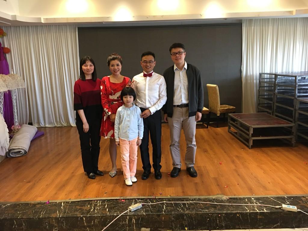 Junjie's wedding