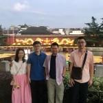 Prof. Zeng's visit to Nanjing